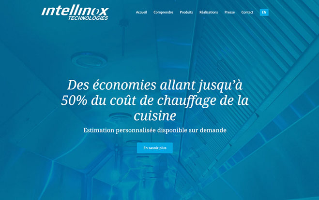 Conception de sites Web - Réalisation - Intellinox Technologies - Les entreprises Mobil-Tek - Conception de sites Web - Eraweb l'agence créative