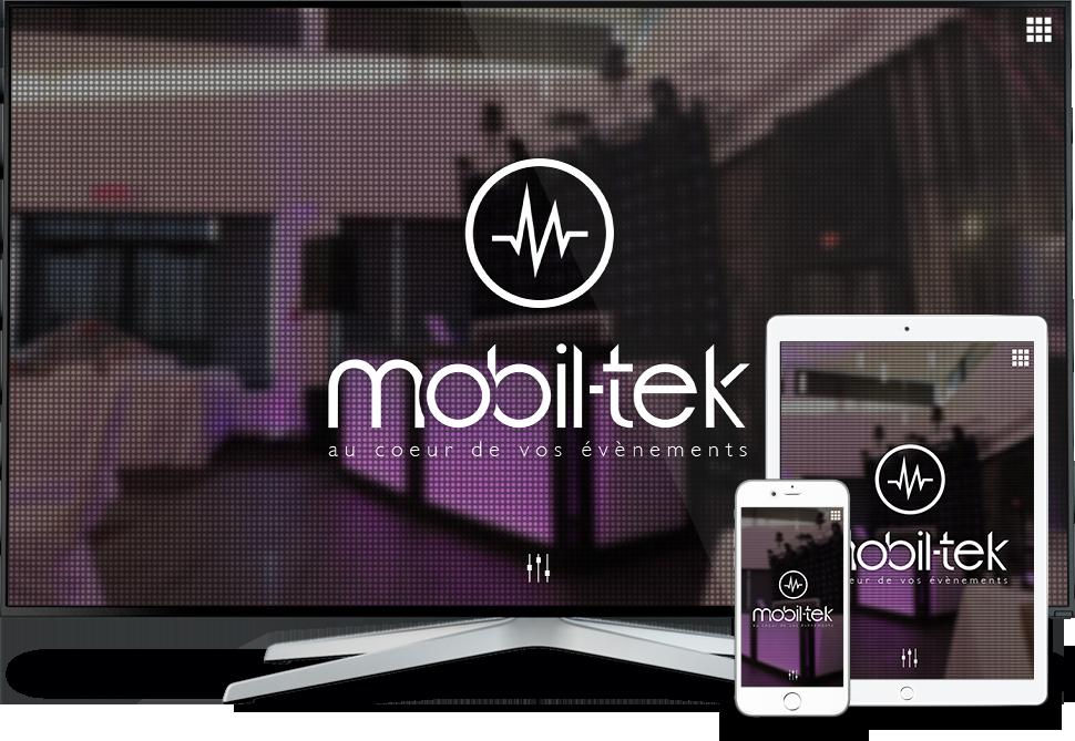 Réalisation - Mobil-tek - Conception de sites Web - Eraweb l'agence créative
