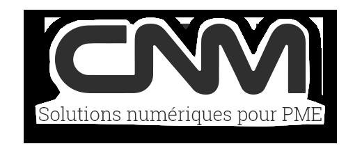 Logo - Réalisation - CNM solutions numériques pour PME - Conception de sites Web - Eraweb l'agence créative