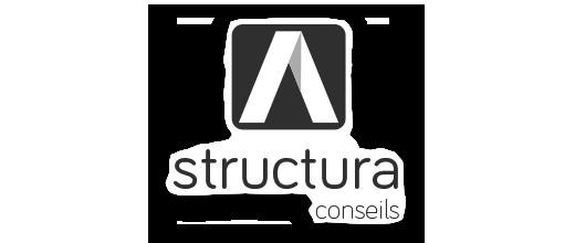 Logo - Réalisation - Structura conseils - Les entreprises Mobil-Tek - Conception de sites Web - Eraweb l'agence créative